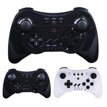 3 In 1 Wireless Gamepad Controller Joystick PC Computer Video Games Handle Game Controller Black White For Nintendo Wii U Pro