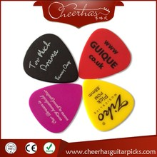 Free shipping custom logo guitar pick plectrum with one color logo one side printing 0.71mm