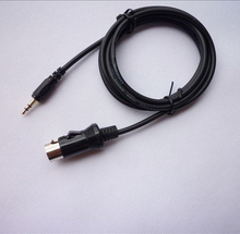For Alpine M-bus KCM-123B CD 8 Pin to Aux 3.5MM Jack Auxiliary Line in Cable Adapter