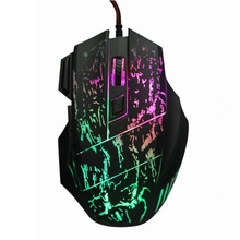 5500DPI USB Wired Mouse 7 Buttons LED Optical Gamer Mouse Mice Computer Mause Gaming Mouse for PC Computer Notebook