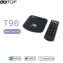 2017 Newest Android 5.1 Internet TV Box 1G/8G Quad-core 4K High-definition WiFi Set-top Box Player 4K* 2K(China)