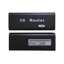 BLACK Portable Mini 3G/4G WiFi Wlan Hotspot A P Client 150Mbps USB Wireless Router
