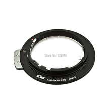 KIWIFOTOS Lens Mount Adapter Ring For NIKON AF F G Lens For CANON EF 7D 5D II III 550D 70D 60D 700D 600D Mount Camera Body