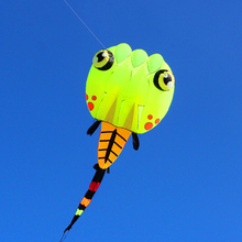 free shipping large tadpole kite nylon ripstop outdoor toys flying bird kites for adults octopus kite windsock dragon kite surf(China)