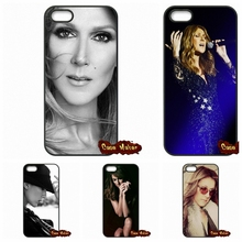 Canada Singer Celine Dion Case Cover For Apple iPod Touch 4 5 6 iPhone 4 4S 5 5C SE 6 6S Plus 4.7 5.5