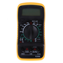 High Quality Digital LCD Multimeter Voltmeter Ammeter AC DC OHM Volt Tester Test Current
