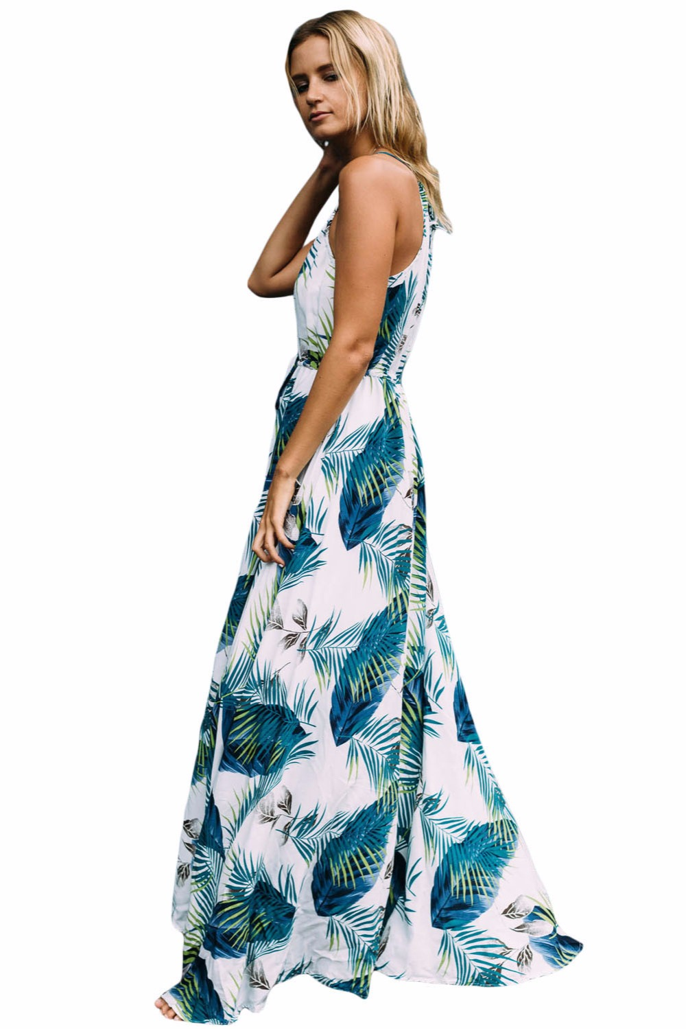 Best Dear Lover Long Dresses Boho Sexy Ladies Turquoise Tropical ...