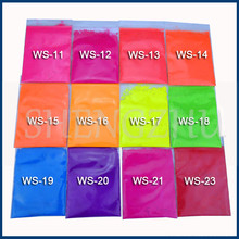 50g Fluorescent Powder Neon Pigment Nail Glitter Dust for Paint Printing Nail Art Polish Gel Nail Polish Manicure