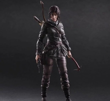 Play Arts Kai PA Tomb Raider Lara Croft Figure Play Arts Figure PA 25cm PVC Action Figure Doll Toys Kids Gift Brinquedos