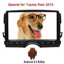 Car Radio Android in Dash for Toyota REIZ 2015 Car Deck NO DVD Player Gps Navigation Headunit Autoradio Video Audio built wifi(China)