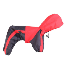 Tiny Small Dog Raincoat Dogs Raincoat Waterproof Dog Clothes Glisten Hoody Rain Slicker Jacket Clothes For Cat Dog(China)