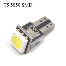 30pcs Car Light Source Car Styling T5 12V Circuit Board Interior Lamp T5 5050 SMD LED Car width Lamp Indicator Light(China)