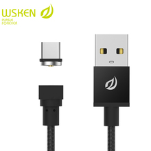 Buy WSKEN USB Type C Magnetic Cable USB C Type-C Round Cable Samsung S8 Oneplus Xiaomi 4C 5 Nexus 5X Mobile Phone USB cables for $10.99 in AliExpress store