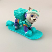 1 Pcs  New Canine Patrol Dog Toys Russian Anime Doll Action Figures Car Patrol Puppy Toy Patrulla Canina Juguetes Gift for Child