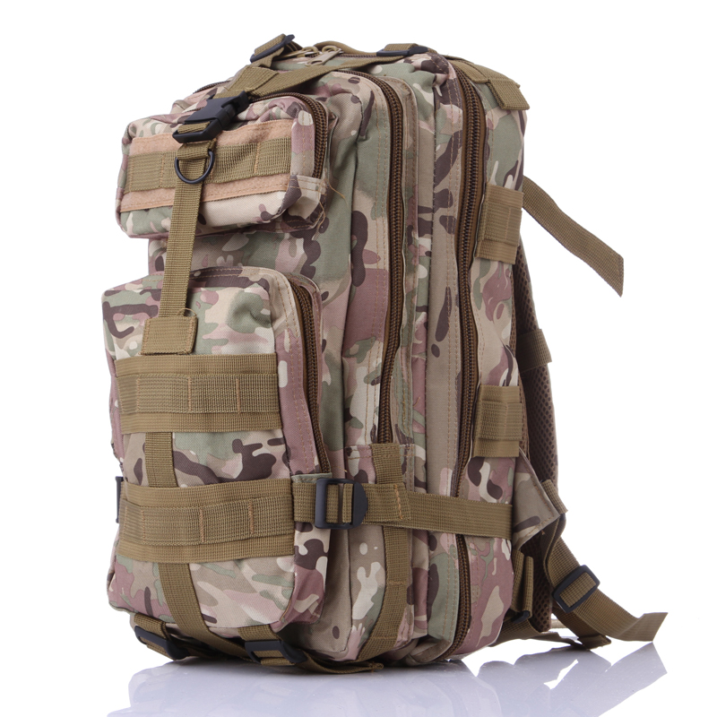 2017 New Fashion Camouflage backpack military shoulder 3P Waterproof Nylon backpack wholesale 1507 <br><br>Aliexpress