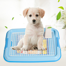 Dog Toilet Mesh Pet Toilet Tray Lattice Potty Toilet for Dogs Cat Puppy Pee Training Mesh Toilet Pet Products(China)