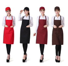 On sale work catering hotel advertising promotion apron custom han edition of Europe type apron free design  for Kitchen Cooking