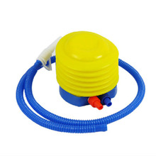 Swimming Ring Foot Pump Inflatable tube Yoga ball tyre pump Plastic Hand Foot Pump Inflator for Air Toys