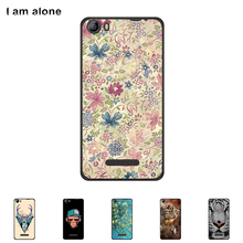 Soft TPU Silicone Case For Micromax Canvas Spark 2 Q334 5.0 inch Cellphone Cover Mobile Phone Color Paint Skin Shipping Free