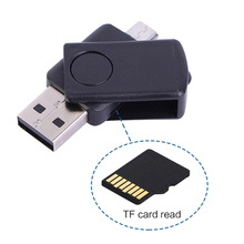 TF Card Adapter USB Reader Mini OTG Card Reader OTG High Speed USB 2.0 Memory Connection Kit For Computer Android Mobile Phone