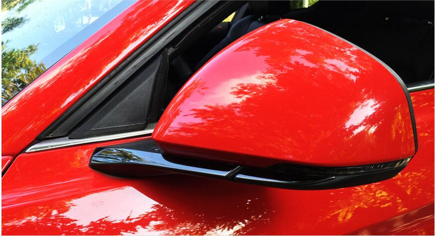side mirror trim for Ford Mustang car accessories (9)