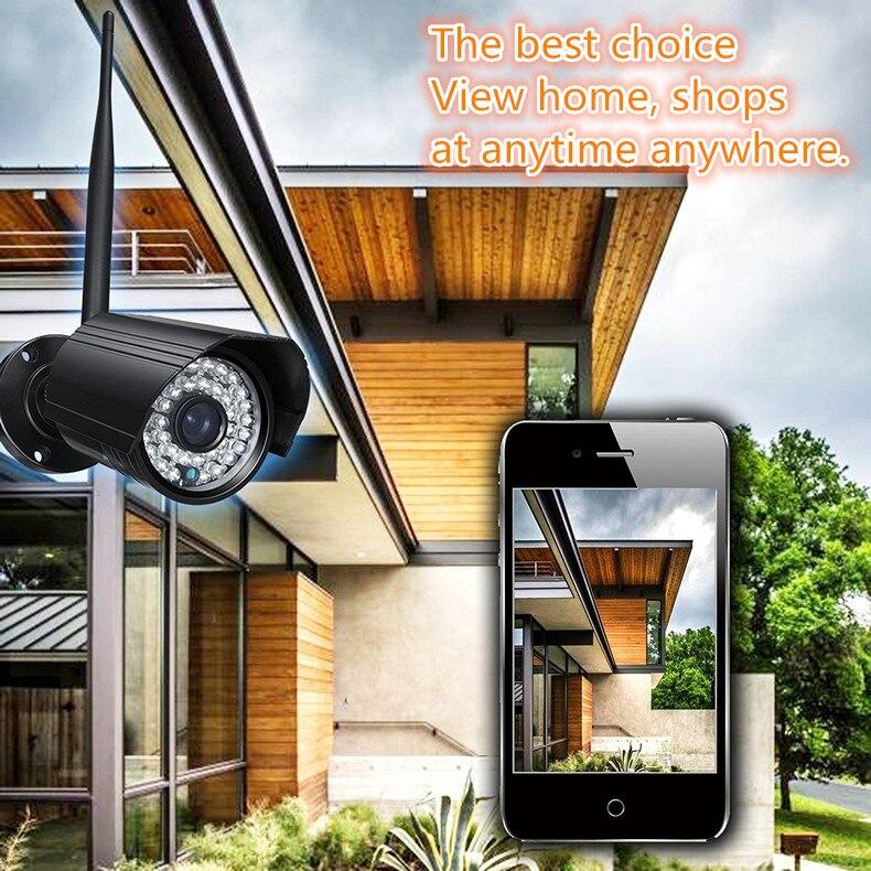 outdoor waterproof Wireless IP Camera 720P 1.0Mega HD wifi CAMERA  P2P Onvif CCTV  surveillance video recorder system <br><br>Aliexpress