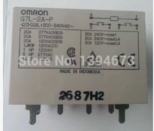 HOT NEW relay G7L-2A-P 200-240VAC G7L-2A-P-200-240VAC G7L2AP G7L-2A 200VAC-240VAC 200VAC 240VAC DIP6<br>