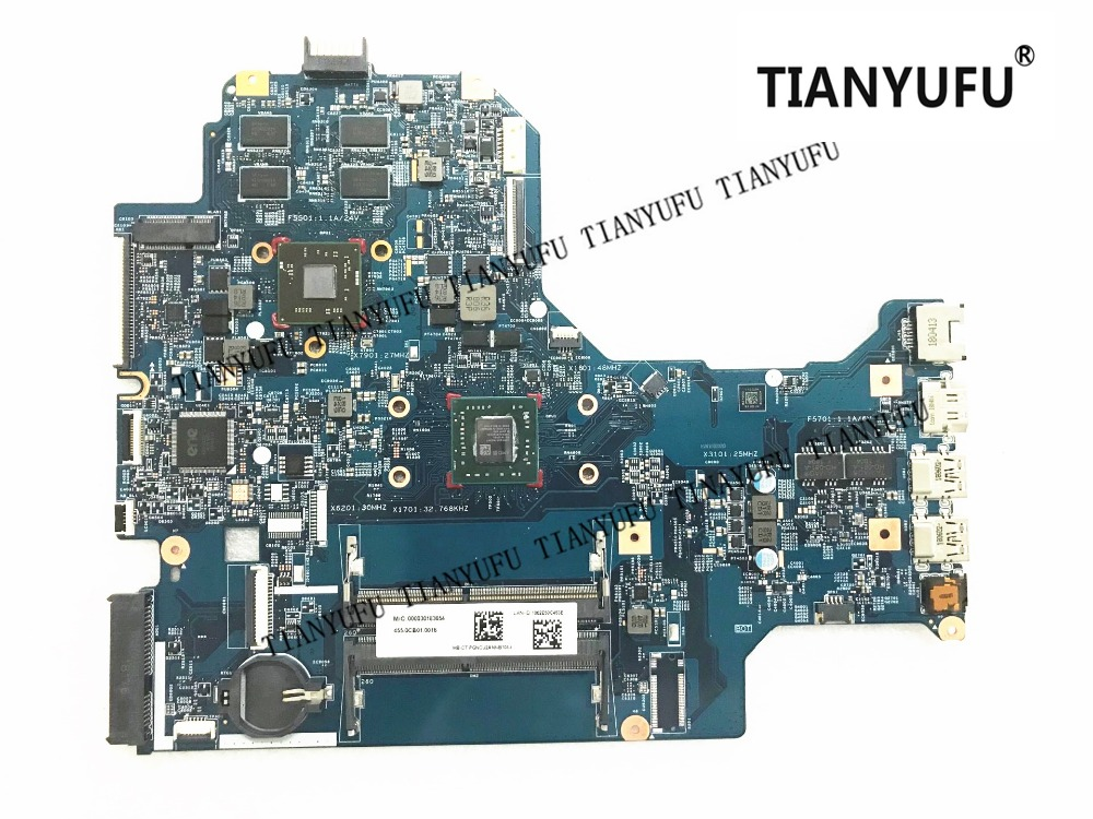 For HP 17-AK 17Z-AK NFL_SR_17 Laptop Motherboard 530 2GB A9-9420 926194-601 926194-001 448.0CB02.0021 mainboard tested 100% work