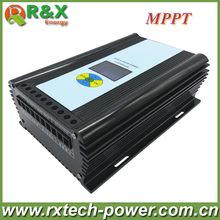 600W wind solar hybrid controller MPPT charging mode 12V/24V auto distinguish off grid battery controller