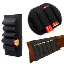 Butt Stock Shotgun Buttstock Rifle Shotgun Hunting Shell Cartridge Ammo Holder Carrier for 12G 12 Gauge/20G Outdoor Sport