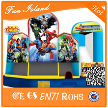 Super Man with Powerful Spiderman Inflatable Bounce Toys Inflatable Jumping Castle Combo For Boys(China)