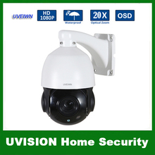 UVEIWN New Arrival 5 inch 1080P Weatherproof IP66 2MP AHD PTZ Dome Camera 20X Optical Zoom 2MP Security CCTV Camera