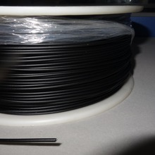 PMMA optical fiber coated with Black Sheath Inner diameter 2.0mm(3.5mm outer diameter) for Showcase