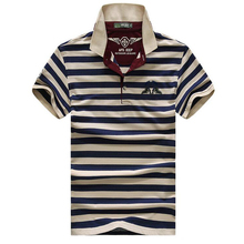 High quality brand men polo shirt new summer casual striped cotton men's polo solid polo shirt polo ralp men camisa(China)