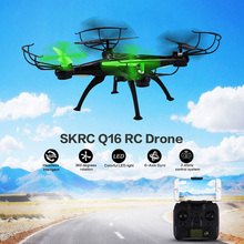 SKRC Q16 RC Drone Dron WiFi FPV Camera 2.4GHz 4CH 6 Axis Gyro Quadcopter RTF APP Control Flashing LED Helicopter Toys Xmas Gifts