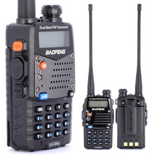 Baofeng UV-5RA For Police Walkie Talkies Scanner Radio Vhf Uhf Dual Band Cb Ham Radio Transceiver EU/UK/US 1Pcs
