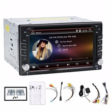 radio 2 din android car dvd palyer steering-wheel gps navigation 2din radio tape recorder wifi+3G+TV (Option) car multimedia(China)