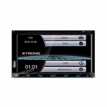 "6.95"" Streamlined & Sleek Design Double Din Car DVD 2 Din Car Radio Two Din Car Multimedia Player with Sleek Buttons Design"