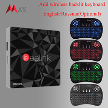 Beelink GT1 Ultimate TV Box 3G 32G Amlogic S912 Octa Core CPU DDR4 2.4G+5.8G Dual WiFi Android 7.1 Set Top Box Media Player X92(China)