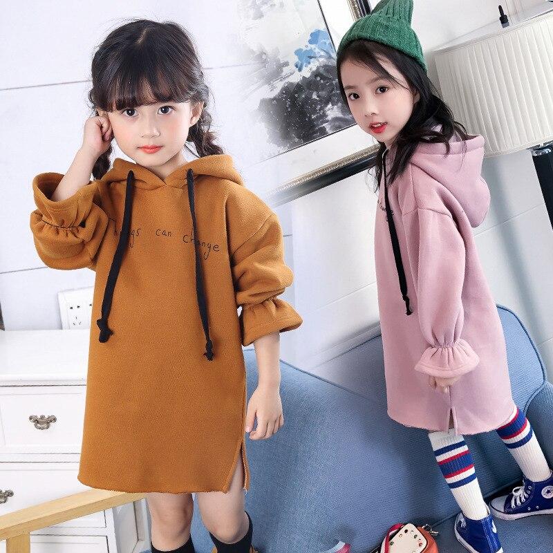فستان طويل الاكمام للاطفال 13