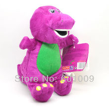 "Free Shipping EMS 100/Lot Barney Child's Best Friend 7"" Plush Singing Doll (I LOVE U) Wholesale"