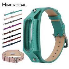 Buy HIPERDEAL New Replacement Leather Wristband Band Strap Xiaomi Mi Band 2 Bracelet 18Jan05 Drop Ship F for $5.89 in AliExpress store
