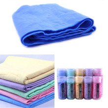 New Natural Chamois Leather Car Cleaning Cloth Washing Suede Towel No Scratches 43*32*0.2cm