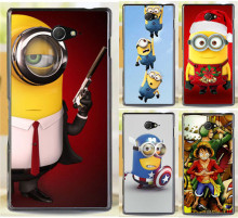 Buy Cartoon Despicable Minions Piece Phone Cases Sony Xperia M2 S50h Dual D2302 D2305 D2303 D2306 Phone Case Back Cover Shell for $1.44 in AliExpress store