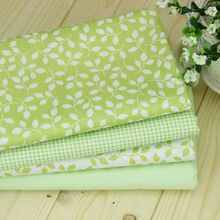 4 pcs/lot  100% pure  Cotton Fabric for DIY Patchwork Sewing Kids Bedding Bags Dot Tilda Doll Cloth Textiles Fabric