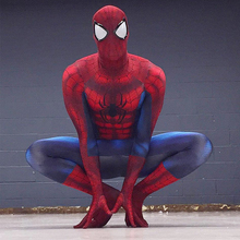 Newest Spiderman Costume 3D Printing Spider-man Costumes Cosplay Spandex Zentai Suit Men Women Halloween Party Cosplay Costumes