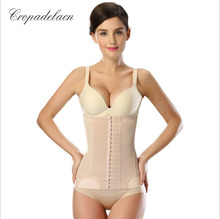 18 button Luxury Women Breathable Slimming wraps Body Abdomen Shaper Girdle Weight Control Waist Shapewear MR024(China)