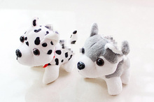 Kawaii 2Colors - Gift Toys - little dogs Plush Stuffed TOY DOLL , 8-11cm approx. doggies key chain pendant plush toys