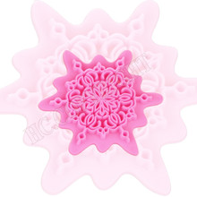 1pcs Small Flower Lace Shape Fondant Cake Sugarcraft Equipment Embosser Cutter Icing Decorating DIY Kitchen Cooking Mold Tools(China)