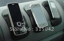 Phone Holding Pad, non slip mat for mobile phone, sticky pad, OPP bag packing, black, transparent clear and blue color